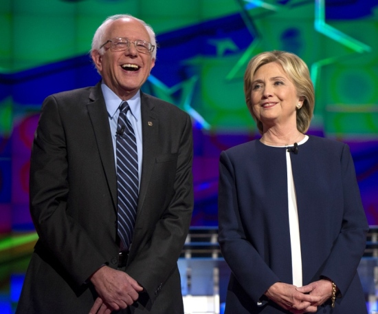 Democratic-Debate-2015-Hillary-Clinton-Bernie-Sanders-Dominate-Unusually-Civil