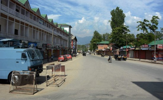 Shutdown-In-Kashmir-Valley-Against-Soldier-Colonies-Pandit-Settlements